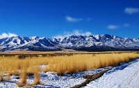 The Sheeprock Mountains from...