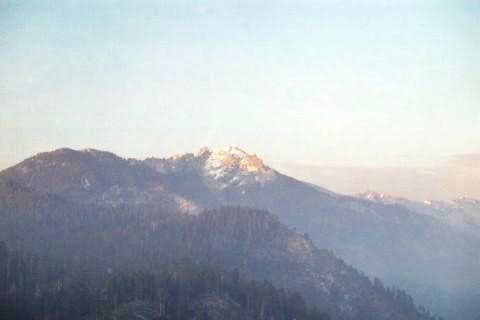 This is a view of Alta Peak...