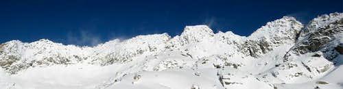 Mount Cowen in January 06