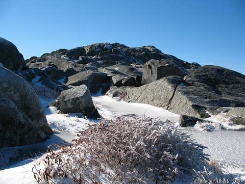 Monadnock\'s summit in...