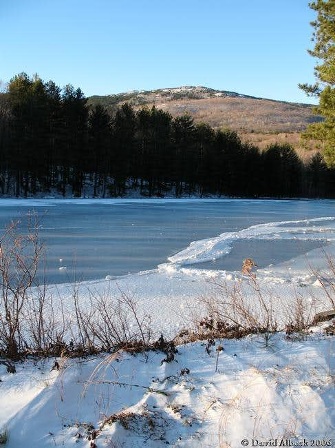 Monadnock seen from the town...