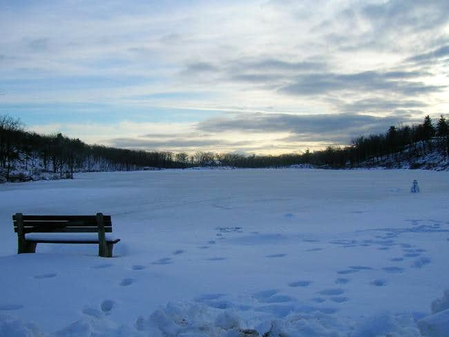 A frozen lake marcia ..(and...