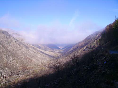 Manteigas paleo-glacial valley
