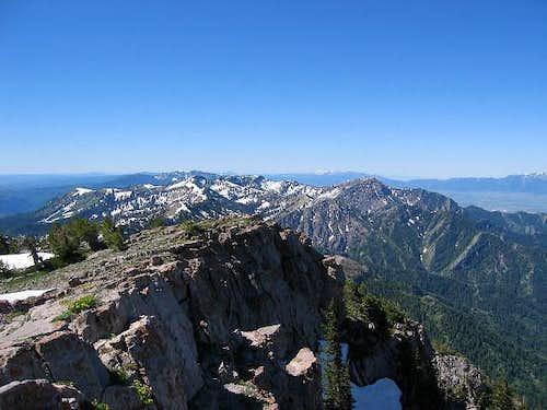Naomi Peak hike
