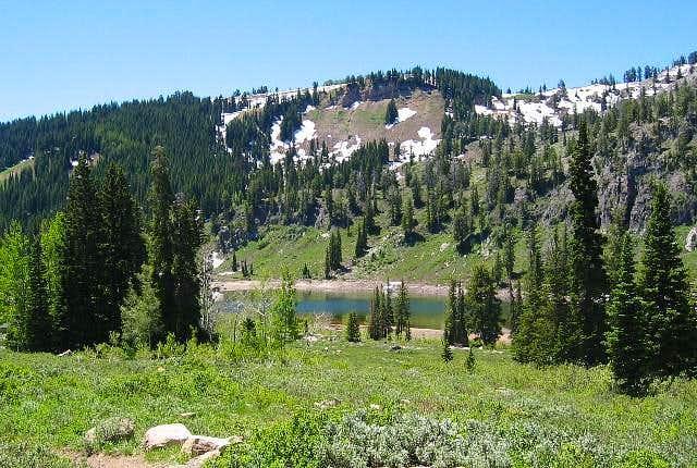 Tony Grove Lake at the...