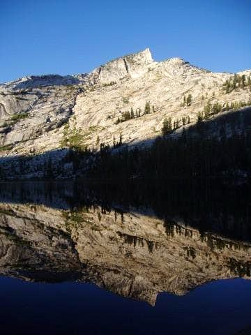 Tresidder Peak reflected in...