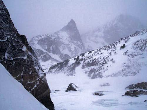 Unnamed 10,300+ foot peak on...