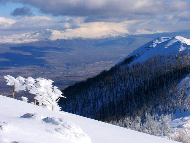 Zelovo Sinjsko (village) - summit of Svilaja 1509 m.