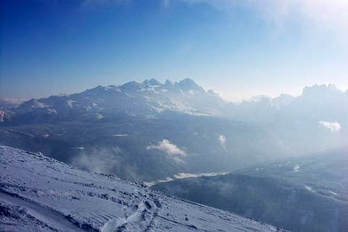 Dachstein from Gamskogel....