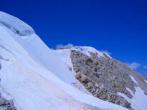 final ridge of monte...