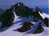 Overview of the couloir