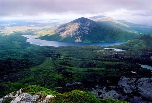Loch Altan and An Eachla Mhor...