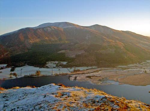 A dawn over Skiddaw from the...