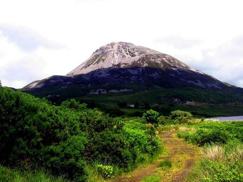 Errigal from the south, near...