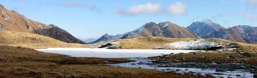 Il Colle Citrin (2474 m)...