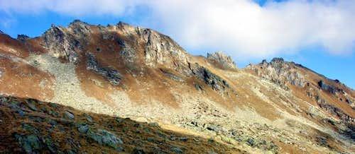 La Cresta di Corleans (2807m)...
