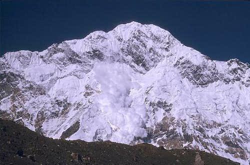 A massive avalanche comes...