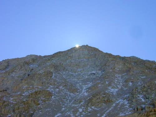 Mount Irvine from the Whitney...