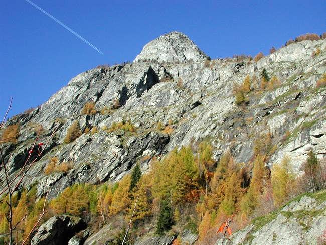 The head of Mont Chetif and...