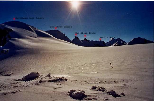 The whole ridge (I used my...