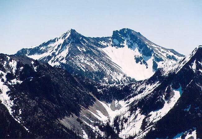 Flora Mountain through the...