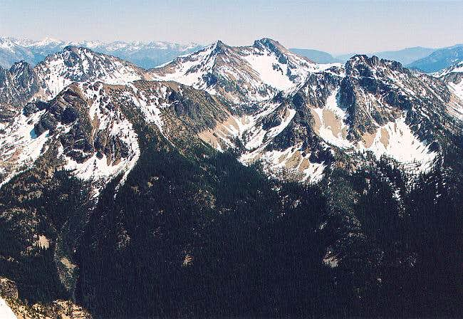 Flora Mountain from the...