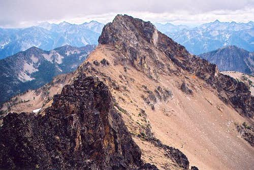 The main summit of Flora from...