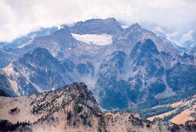 Martin Peak (8,511 ft) to the...