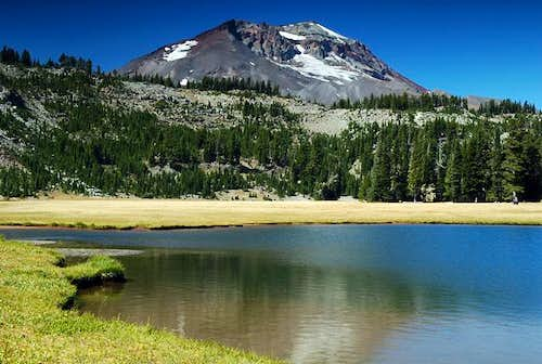 South Sister as seen from...