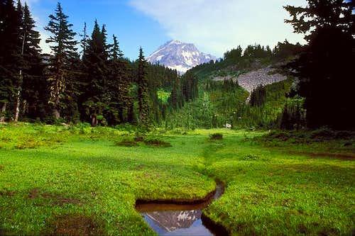 Mount Hood reflection at Eden...