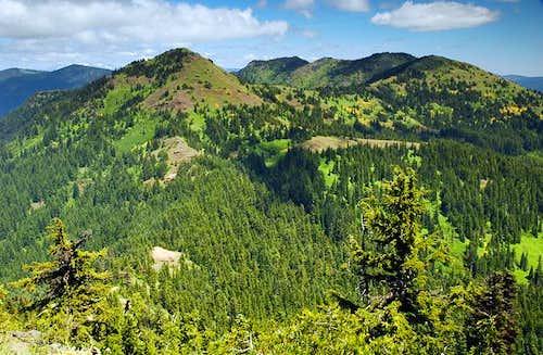 Cone Peak and Echo Mountain...