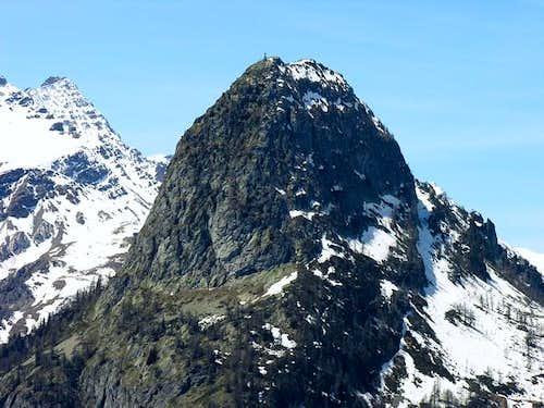 Il versante N-E del mont...
