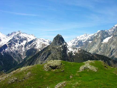 Il mont Chetif (2343 m)...