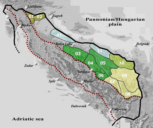 Map 6. North-Eastern Belt
