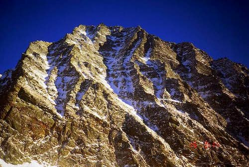 The north-west face of Monte...