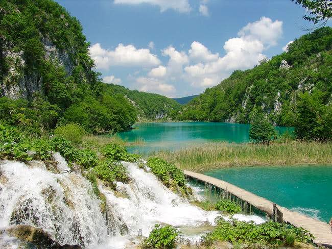 Dinaric Alps, the water in...