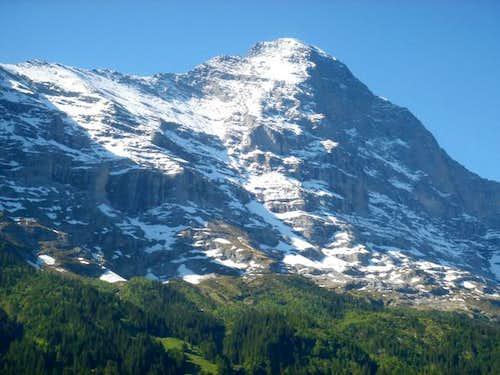 Eiger Mittelegi ridge &...
