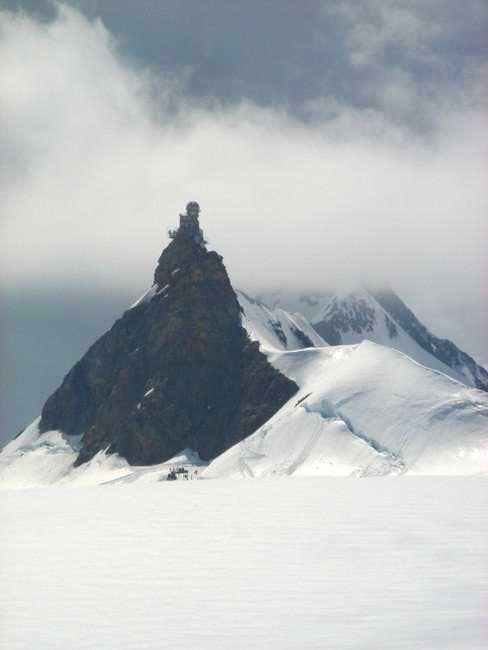 Jungfraujoch, the summit...