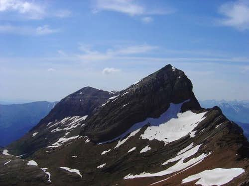 West face of Pala de Ip from...
