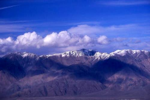 Mount Inyo (left) and Keynot...