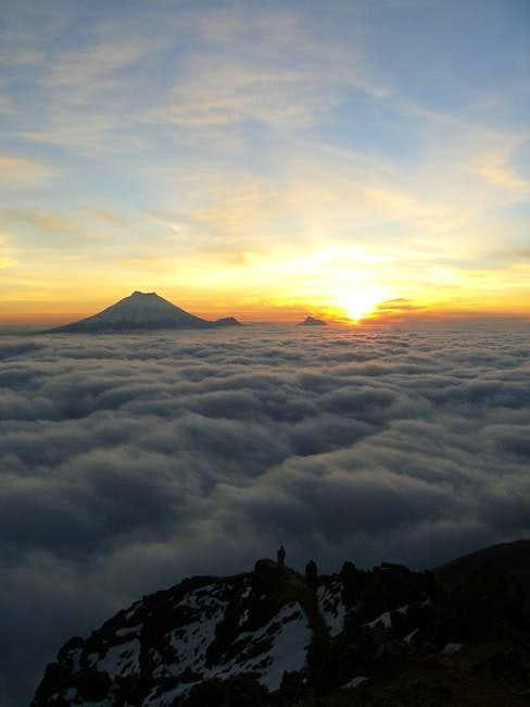 cloud floor across Andean valley