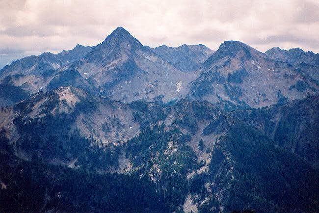 Spectacle Buttes from the...