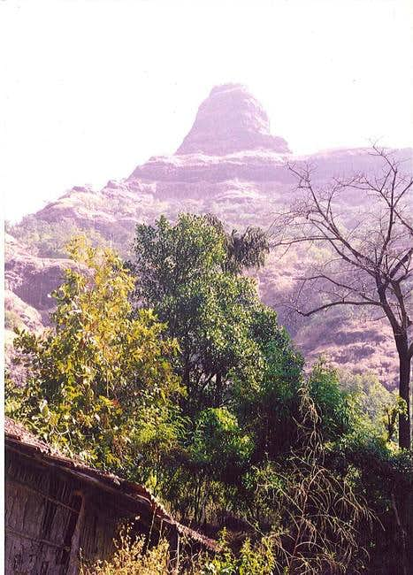 Durg Lingana, as seen from...