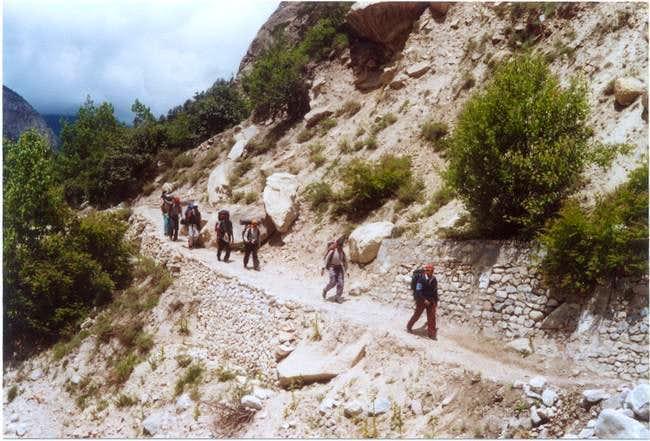 Going towards Gaumukh, from...