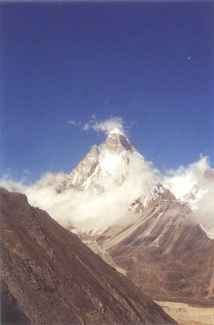 Mt. Shivling, as seen from...