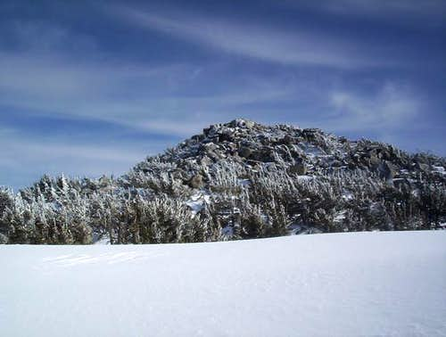 The summit of Monument Peak,...