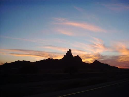 This is Picacho Peak from...
