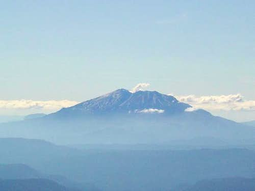 View of Mount Saint Helens...