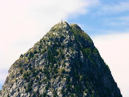 Mt. Chetif summit view from Mont de la Saxe