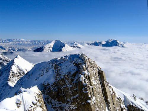 Mid-winter Summit View